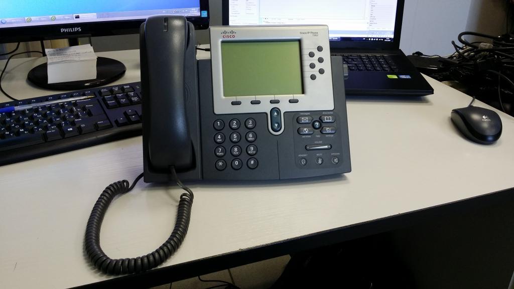 Настройка, восстановление прошивка телефона Cisco 7962g