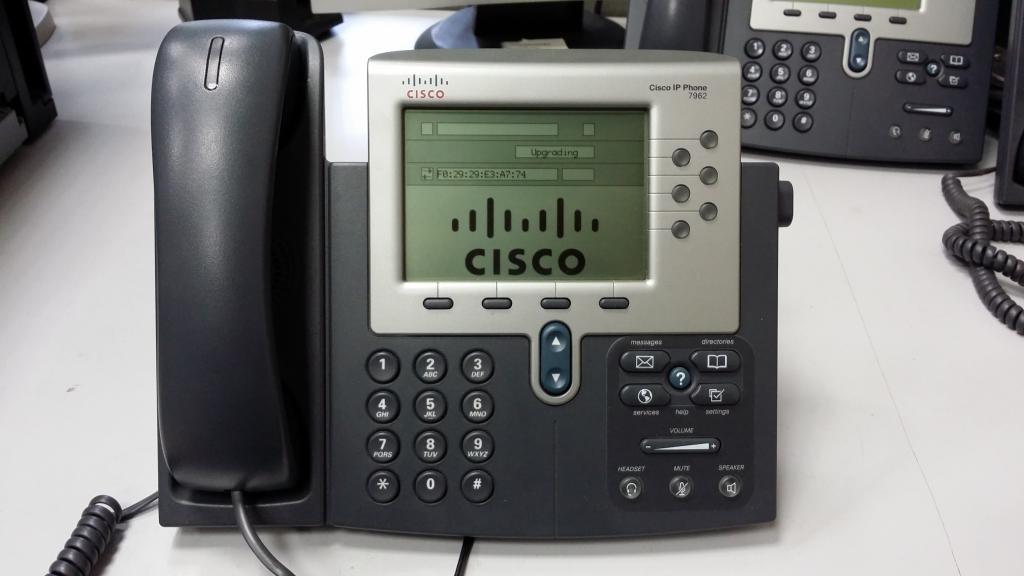 Настройка, восстановление прошивка телефона Cisco 7962g  | IT-блог