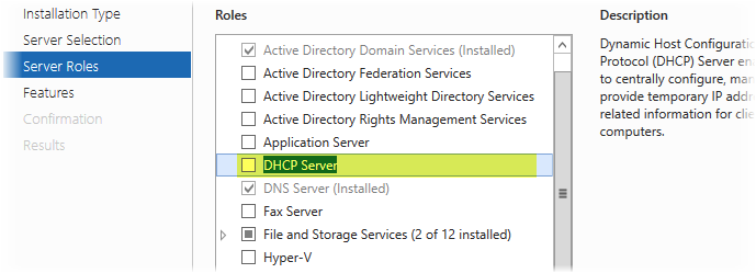 Миграция DHCP сервера на базе Windows Server 2012 R2 на